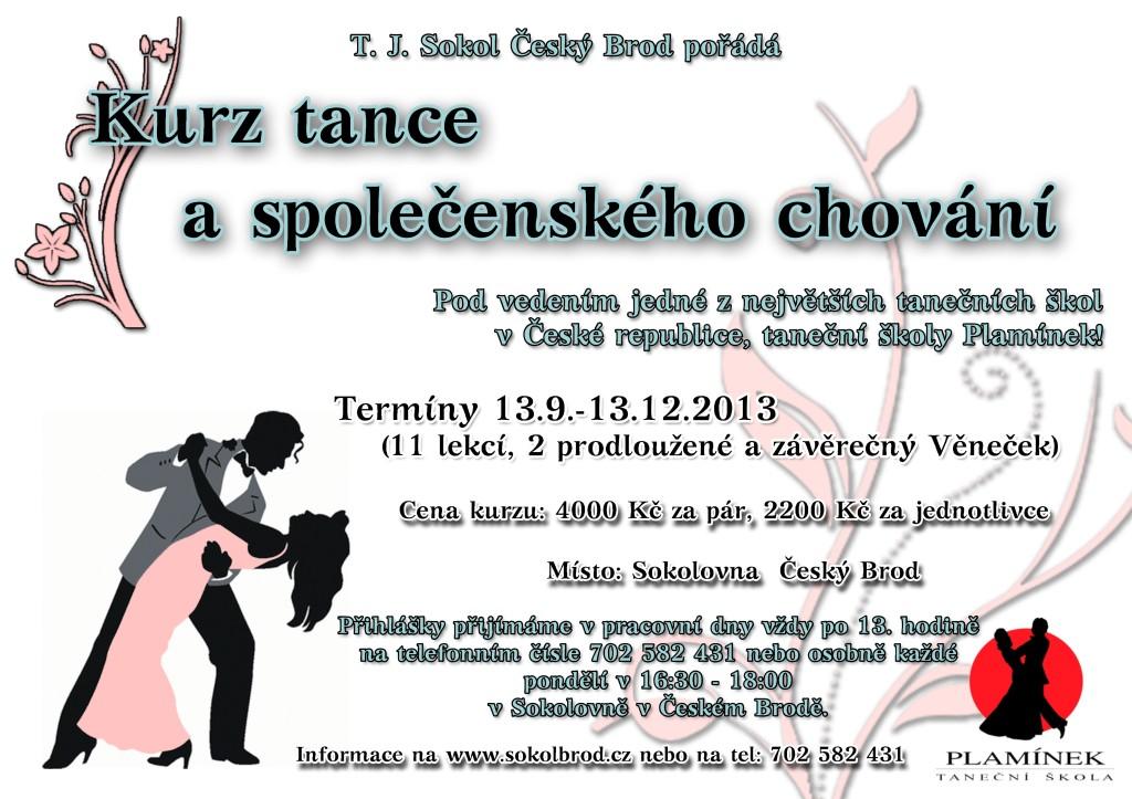 Plakát tanecni 2013