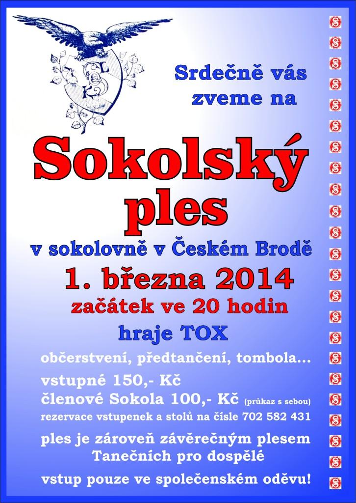 Sokolský ples 2014 2