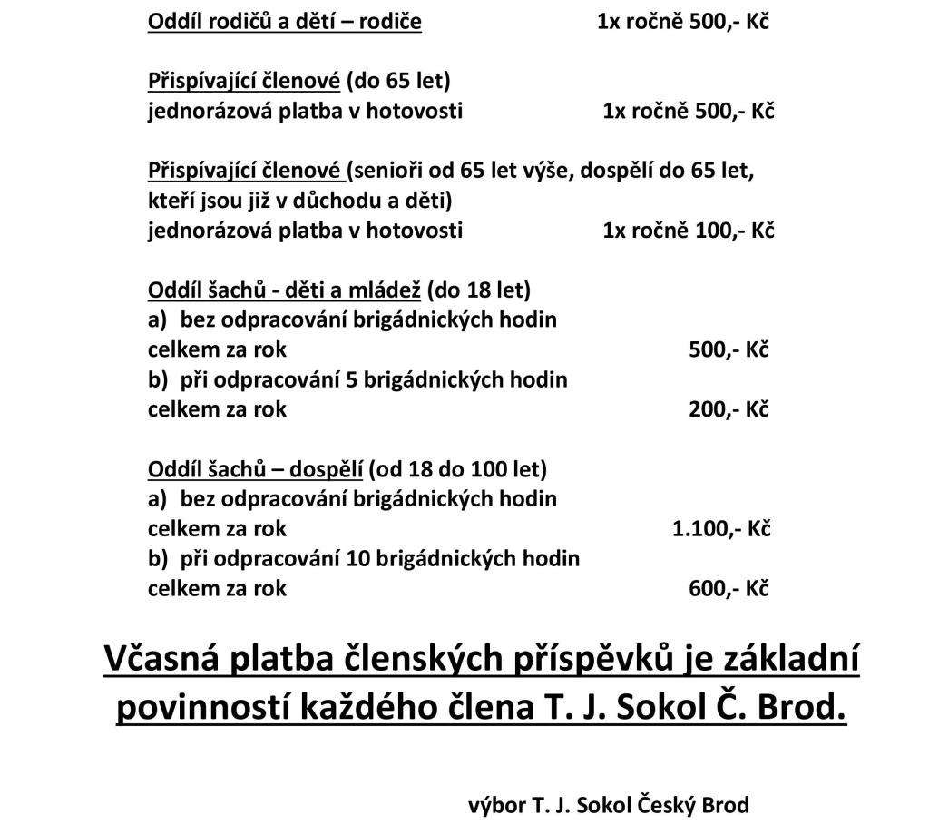 Členské příspěvky v roce 2015 - konkrétní částky-3