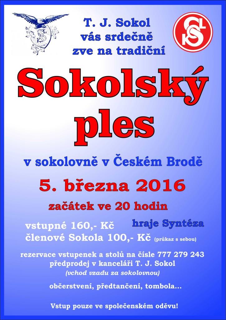 Sokolský ples 2016