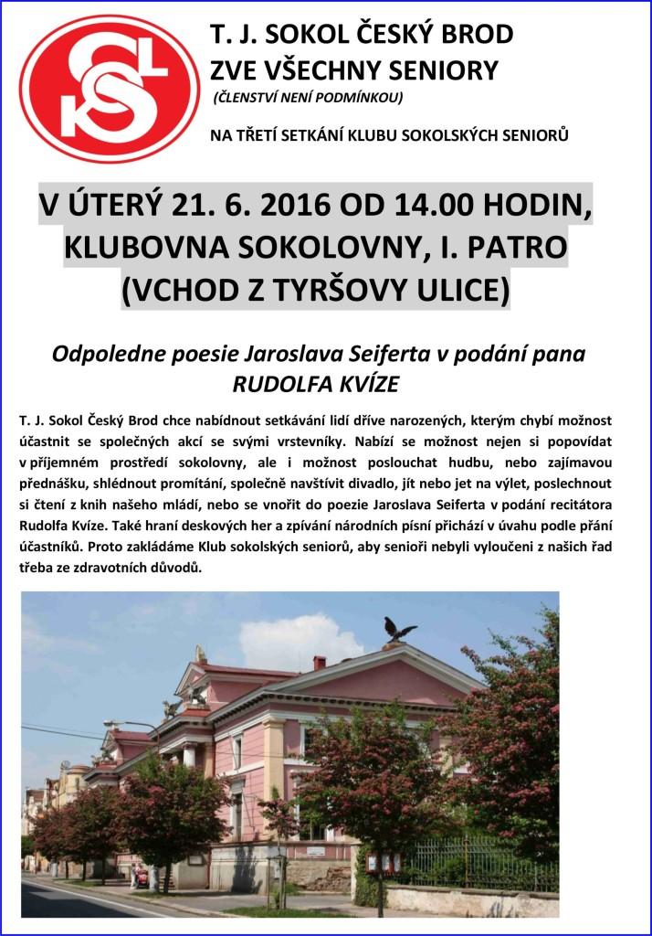 Klub sokoských seniorů 21-6-2016