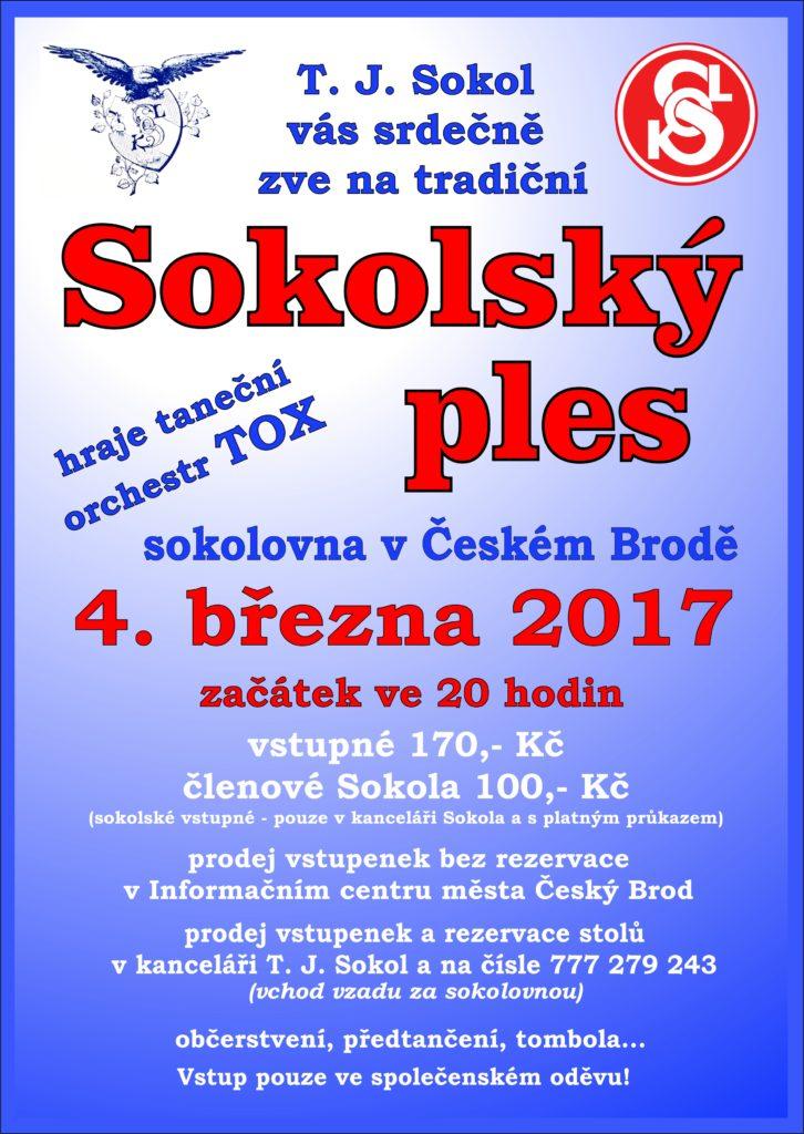 Sokolský ples 2017